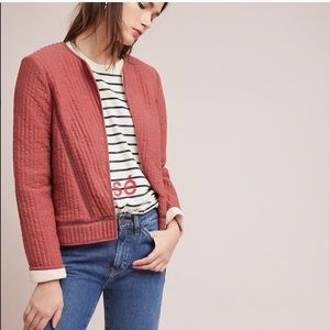 🆕{Listing} Anthropologie Classic Quilted Jacket